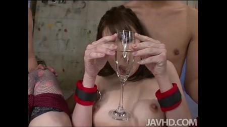 ยากูซ่าจับสาวปิดตามัดมือมัดเท้าแล้วชวนเล่นสยิว