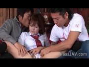 นักเรียนสาวต้องคู่กับกางเกงในสีขาวเท่านั้น